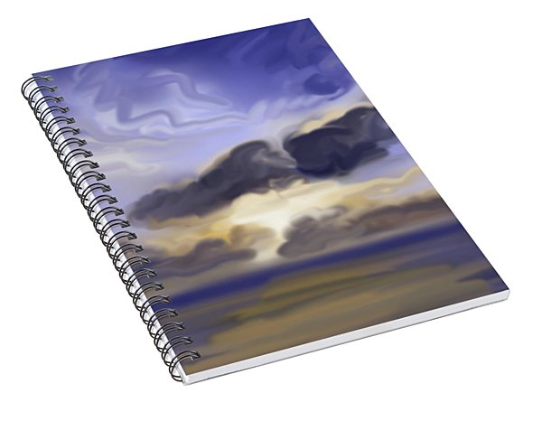 Jupiter Sunrise Spiral Notebook