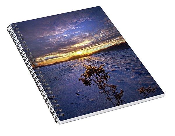 Just Plain Cold Spiral Notebook