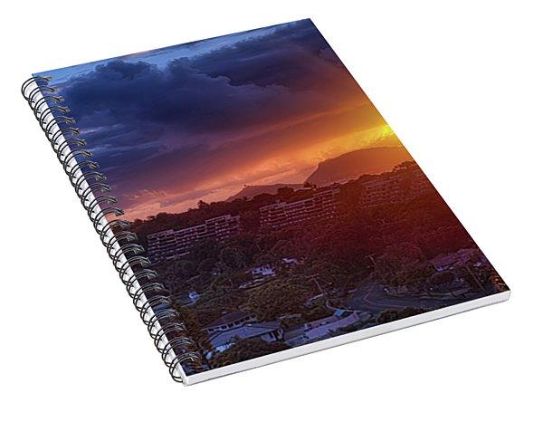 Kaneohe Sunrise Spiral Notebook