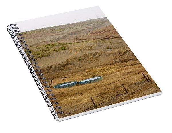 Kansas Watering Hole Spiral Notebook