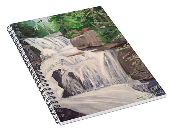 Katahdin Falls Spiral Notebook