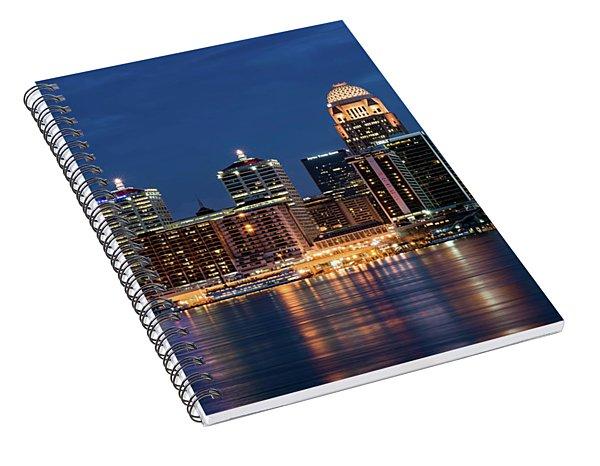 Kentucky Blue Spiral Notebook