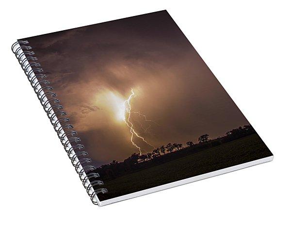 Kewl Nebraska Cg Lightning And Krawlers 014 Spiral Notebook