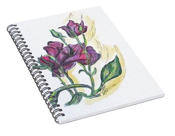 Kimberly's Spring Flower Spiral Notebook