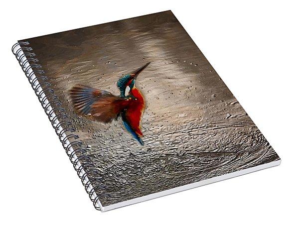 Kingfisher Spiral Notebook