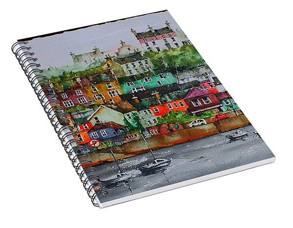 Kinsale Panorama, West Cork Spiral Notebook
