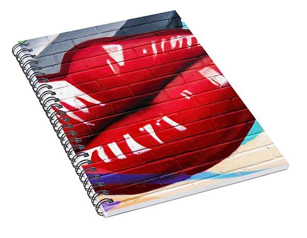 Kiss Me Now ... Spiral Notebook