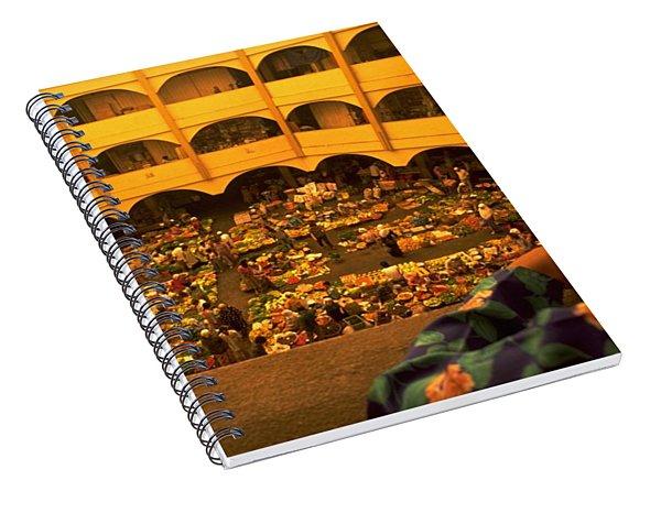 Kota Bahru Indoor Market Spiral Notebook
