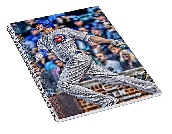 Kris Bryant Chicago Cubs Spiral Notebook