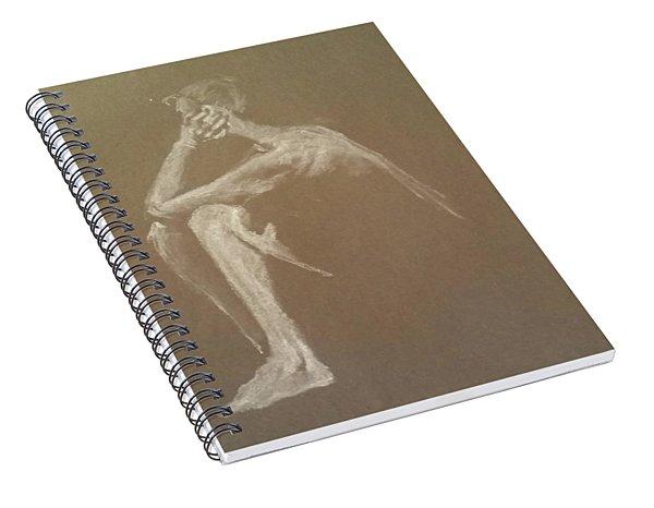 Kroki 2015 06 18_9 Figure Drawing White Chalk Spiral Notebook