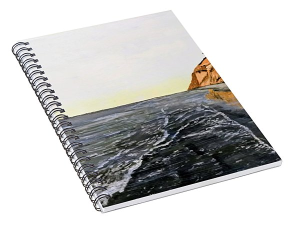 La Jolla Shoreline Spiral Notebook