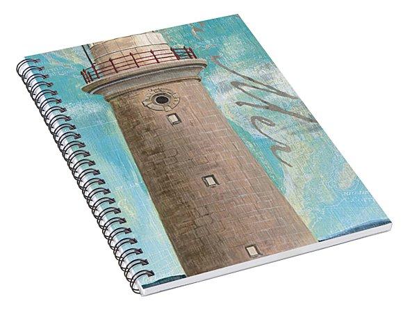 La Mer Lighthouse Spiral Notebook