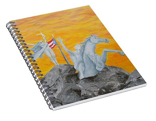 La Princesa Spiral Notebook
