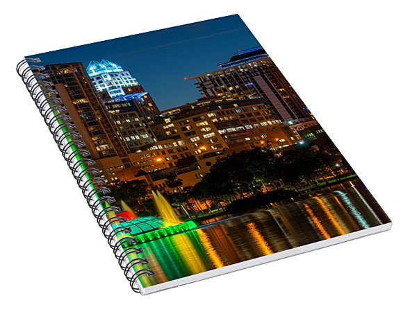 Lake Eola Fountain Spiral Notebook