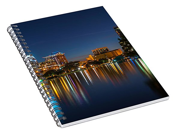 Lake Eola Orlando Spiral Notebook