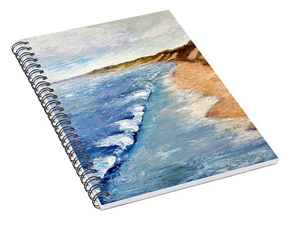 Lake Michigan With Whitecaps Ll Spiral Notebook