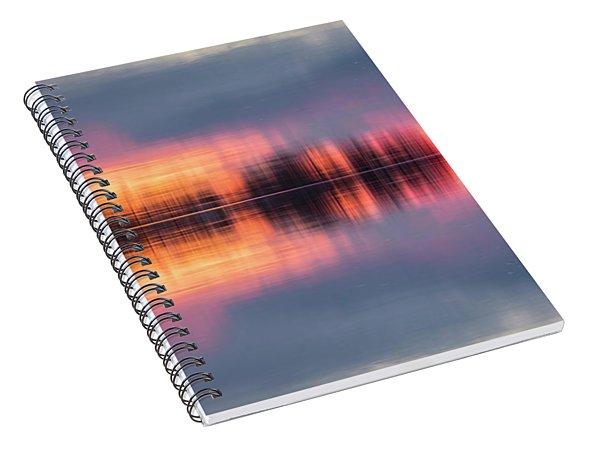 Lake Norman Sunset Spiral Notebook