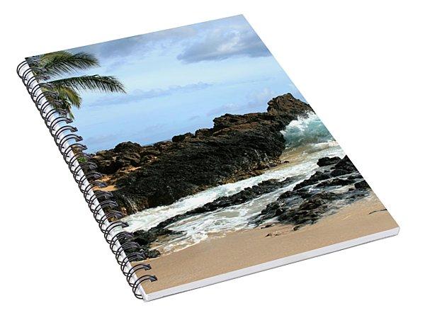 Lapiz Lazuli Stone Aloha Paako Aviaka Spiral Notebook