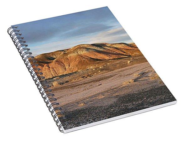 Late Light At Painted Desert Spiral Notebook