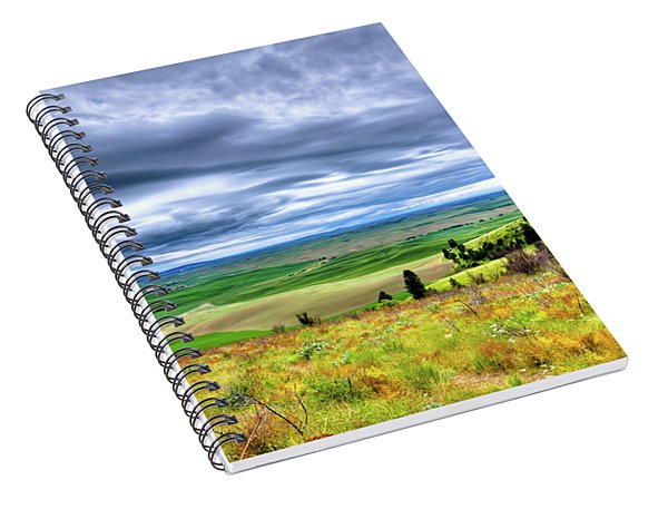Late Spring On Kamiak Butte Spiral Notebook