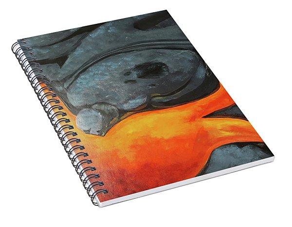 Lava 1 Spiral Notebook