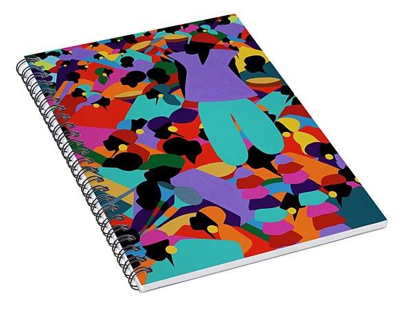 Le Carnaval Spiral Notebook