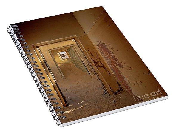 Left Behind - Namibia Spiral Notebook