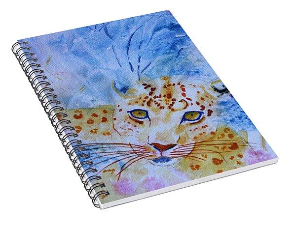Leopard Hide And Seek Spiral Notebook
