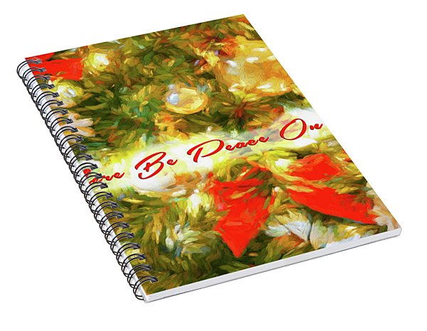 Let There Be Peace On Earth 2 Spiral Notebook