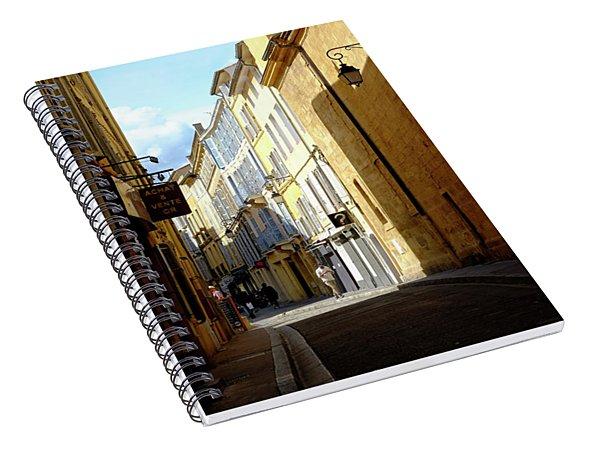 Light And Dark Spiral Notebook