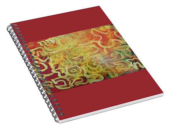 Light In The Letters Spiral Notebook