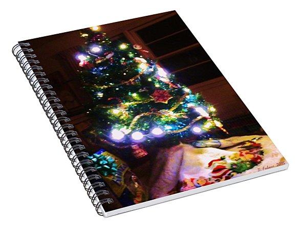 Light Up The Night Spiral Notebook