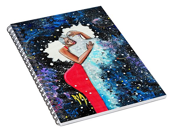 Light Years For Love Spiral Notebook