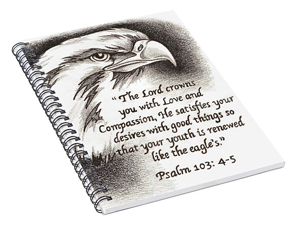 Like The Eagle Spiral Notebook