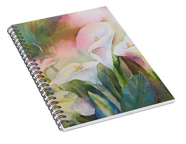 Lily Light II Spiral Notebook