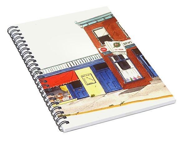 Lincoln News Spiral Notebook