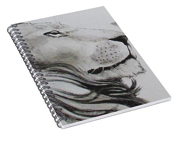 Lion Tears Spiral Notebook