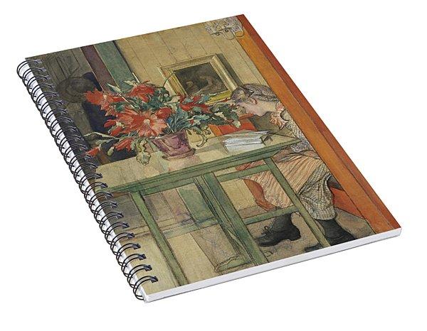 Lisbeth Reading Spiral Notebook