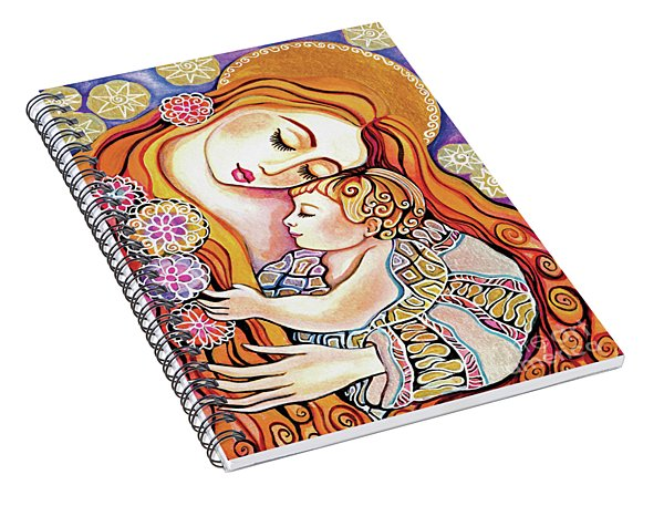Little Angel Sleeping Spiral Notebook