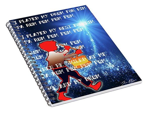 Little Drummer Boy Spiral Notebook