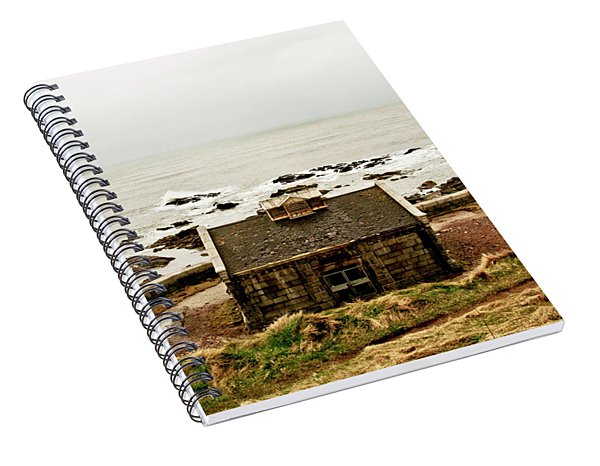 Little House At The Nigg Bay. Spiral Notebook