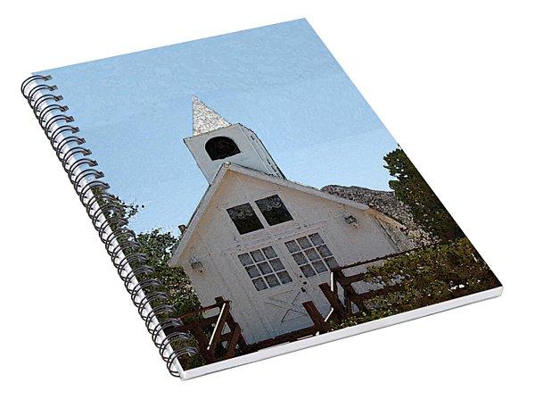 Little White Church Spiral Notebook