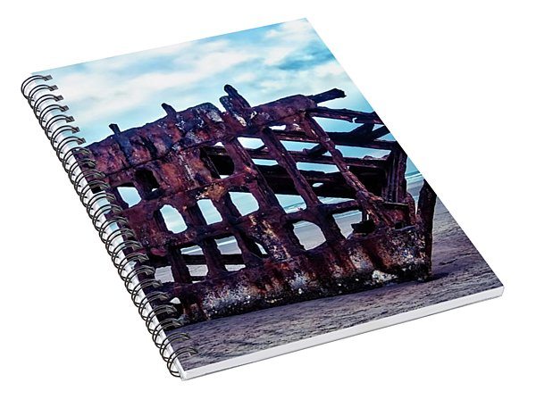 Long Forgotten Shipwreck Spiral Notebook
