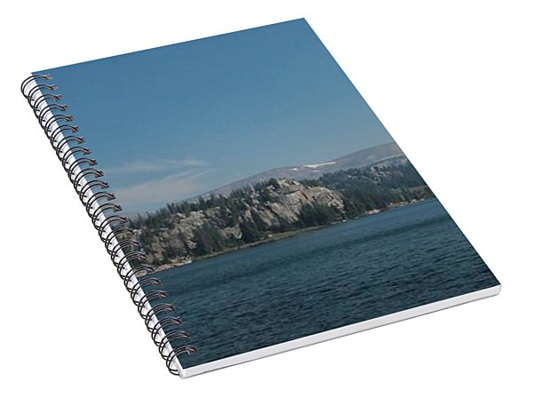 Long Lake Shoshone National Forest Spiral Notebook