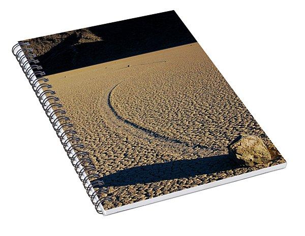 Long Tracks Spiral Notebook