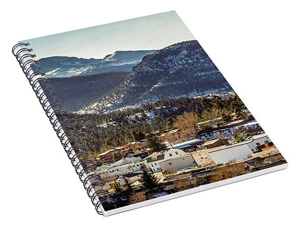 Longs Peak From Estes Park Spiral Notebook
