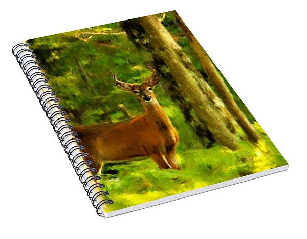 Look Deep Into Nature Spiral Notebook