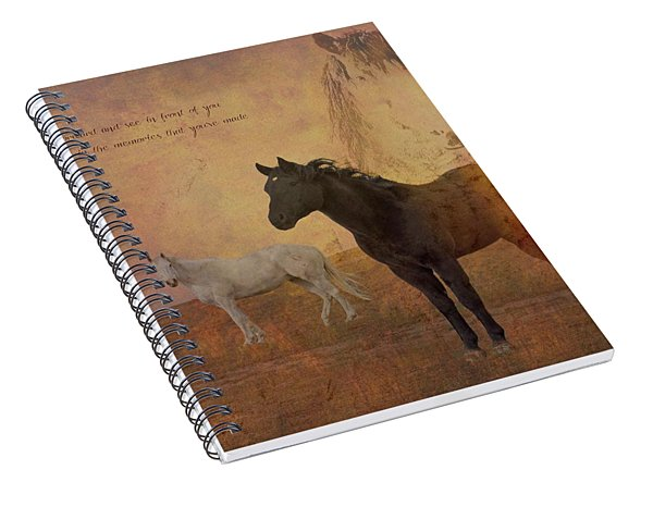 Look Forward Spiral Notebook