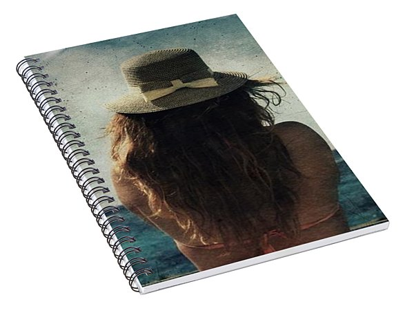 Looking At The Horizon Spiral Notebook