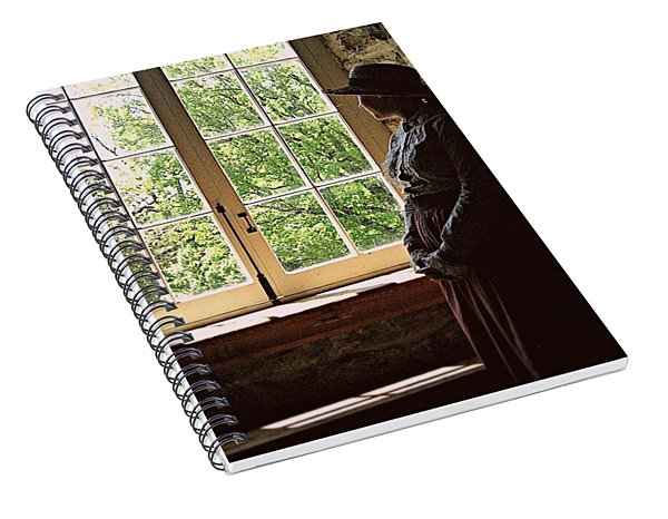 Looking Out Of The Window Spiral Notebook